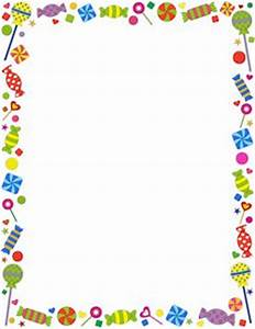 Candy Border - Wonderful website! There are printables for ...