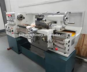 Small Manual Universal Metal Bench Lathe C6140a