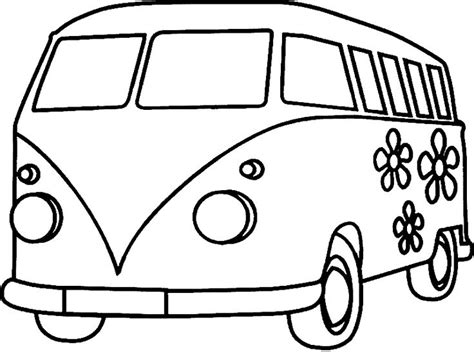 vw bus images  pinterest drawings coloring