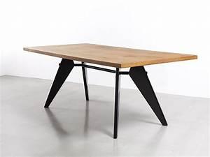 Table Jean Prouvé : jean prouve table sam1 galerie patrick seguin version fr ~ Melissatoandfro.com Idées de Décoration