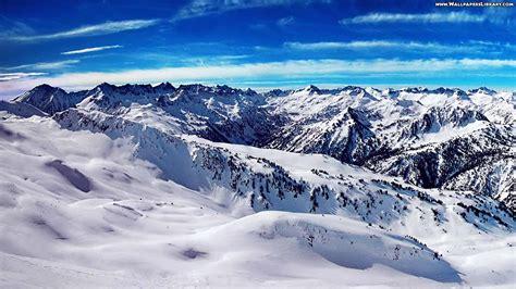 snow mountain wallpaper high definition  landscape