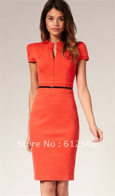 Petite Sophisticate Ruby Red Dress size 6 | Business formal Business dresses and Classy chic