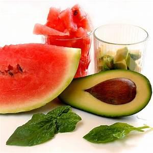 Salat Mit Spinat : spinat avocado salat mit wassermelone einfach schnell gesund vegan ~ Orissabook.com Haus und Dekorationen