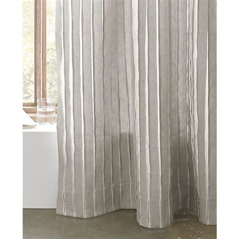 curtains curtain panels and crate and barrel on