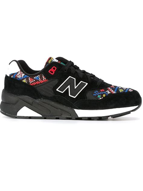 Lyst  New Balance '580 Elite Edition' Sneakers In Black