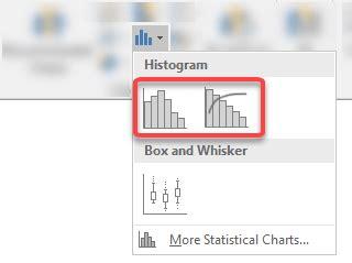 histograms pareto charts  excel tutorial tips