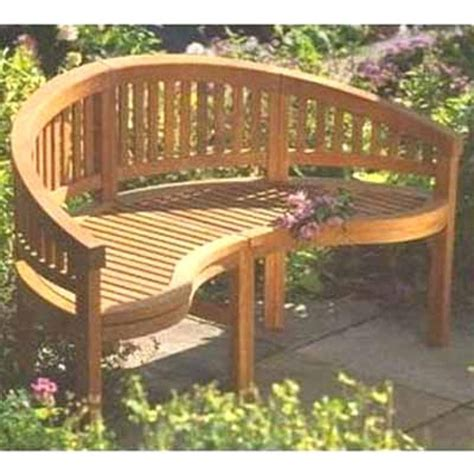 curved back bench come sit a spell in my garden
