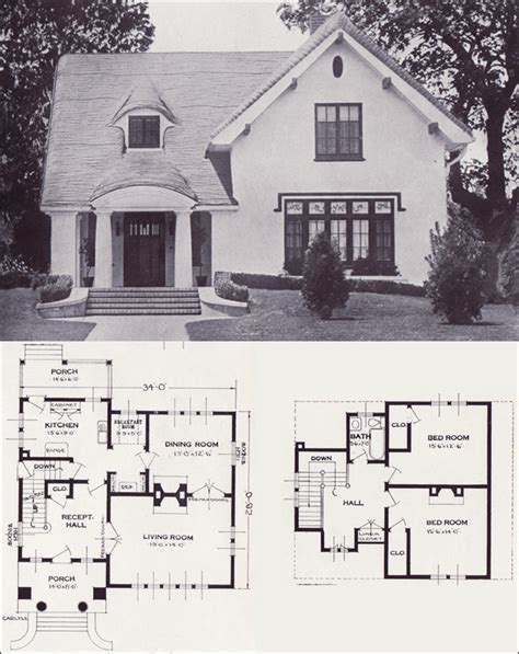 simple 1920s home plans ideas photo the carlyle storybook revival vintage house plans of