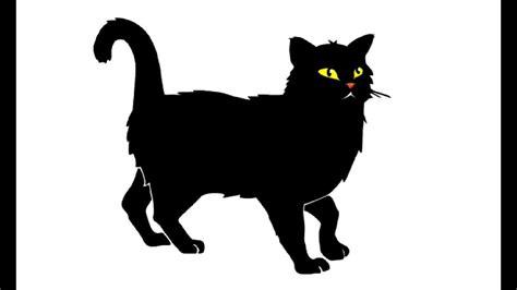 draw  black cat kak narisovat chernogo kota