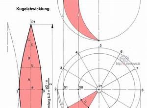 Ellipse Berechnen : die kugel und ihre abwicklung tec lehrerfreund ~ Themetempest.com Abrechnung