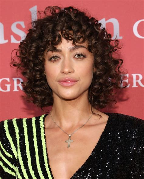 curly bangs   coolest hairstyle