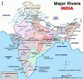 List of Rivers of India and their Names, Origin and Length - VidyaGyaan