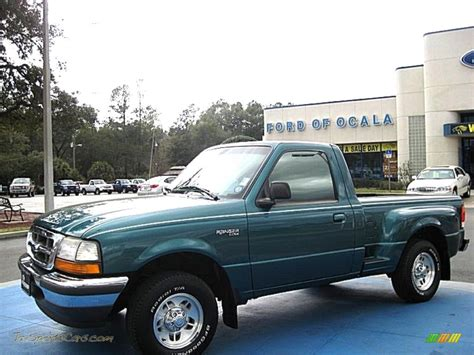 1998 ford ranger xl regular cab in pacific green metallic a01683 jax sports cars cars for
