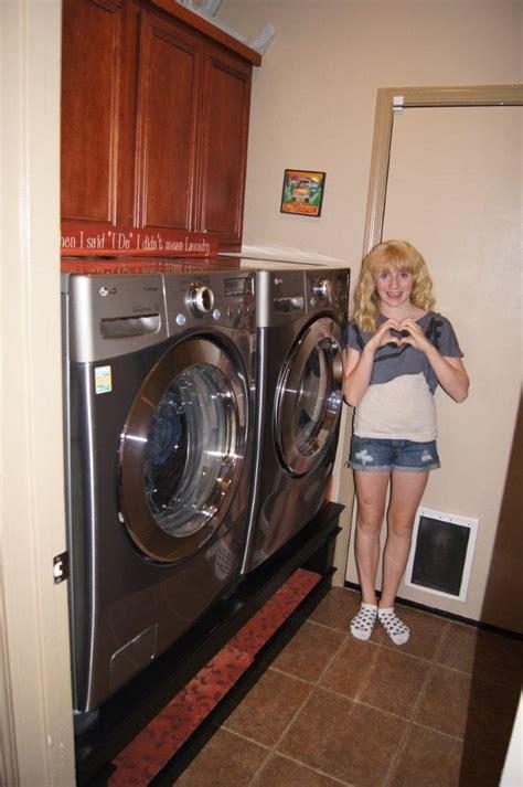 laundry pedestals ana white