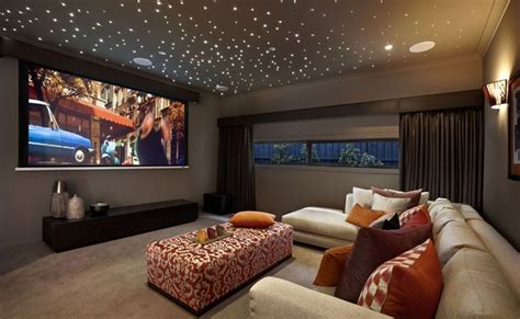 """Media Room  Project Lights""""stars"""" On The Ceiling For"""