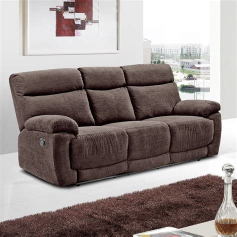 Fabric Sectional Sofas with Recliners