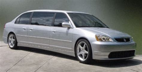 honda civic stretch limo tuning modified stretched
