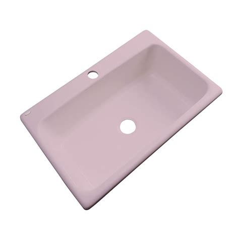 thermocast kitchen sinks cleaning thermocast manhattan drop in acrylic 33 in 1 single