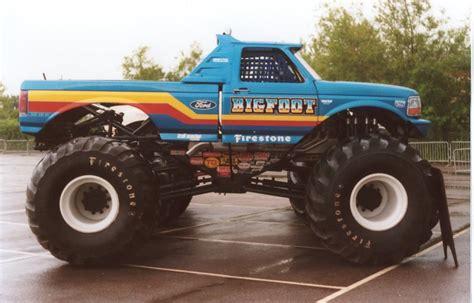 bigfoot monster truck history top ten legendary monster trucks that left huge mark in