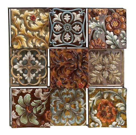 tuscan metal wall decor southwest decor pinterest