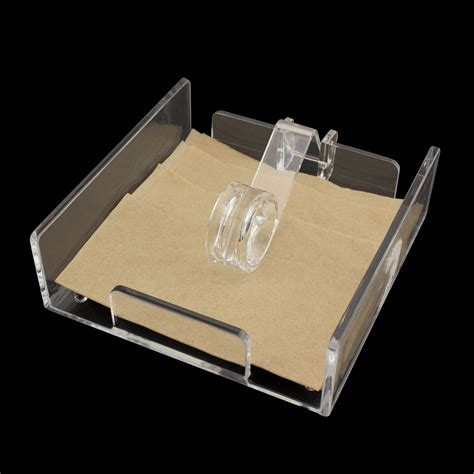 Acrylic Cocktail Napkin Holder Luncheon Roller Style. Teen Desk With Hutch. School Desks Canada. Indoor Bistro Table Set. Exercises While Standing At Desk. Rio Suites Front Desk. Bedside Table Ideas. 2.5 Inch Drawer Pull. Computer Desk Organization