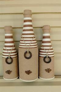 Customiser Une Bouteille De Vin : d coration bouteille en verre comment customiser vos ~ Zukunftsfamilie.com Idées de Décoration