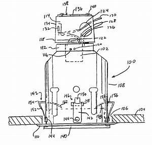 Patent Us6896394 - Recessed Light Fixture