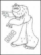 Smallfoot Coloring Tegninger Ausmalbilder Websincloud Printable Colouring Barn Malvorlagen Skrive Ut Til Abenteuer Ein Fargelegg sketch template