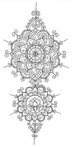 coloriages superbes mandalas tribal indien coloriage