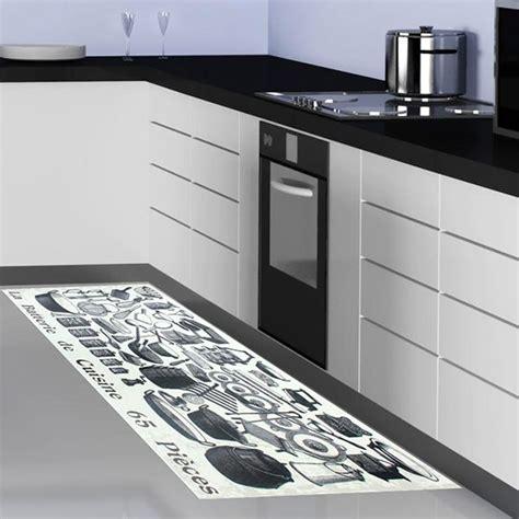 grand tapis de cuisine tapis de cuisine gris design cuisine naturelle