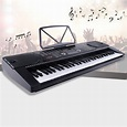 61 Key Music Electronic Keyboard Electric Digital Piano ...