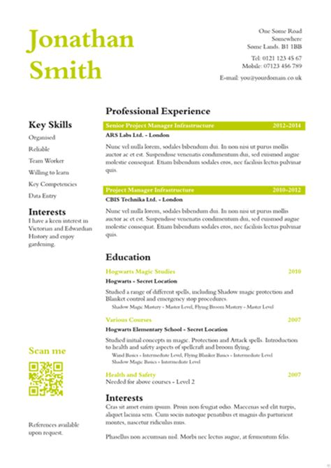 Cv Templates Uk by And Find Cv Cover Letter Attached