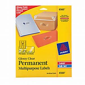 avery permanent glossy clear inkjetlaser multipurpose With avery glossy stickers