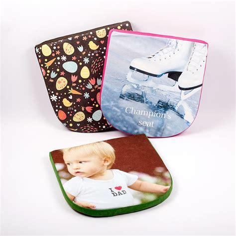 custom chair pads custom seat cushions with photo you design