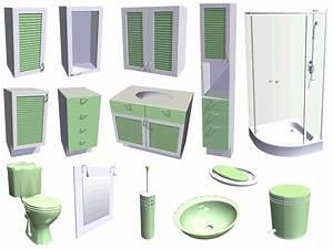 Plan 3d Salle De Bain Gratuit : cuisine salle de bains 3d ~ Melissatoandfro.com Idées de Décoration