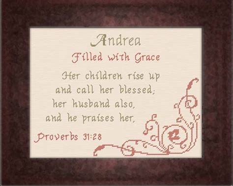 Name Blessings Andrea Alized Names With Meanings