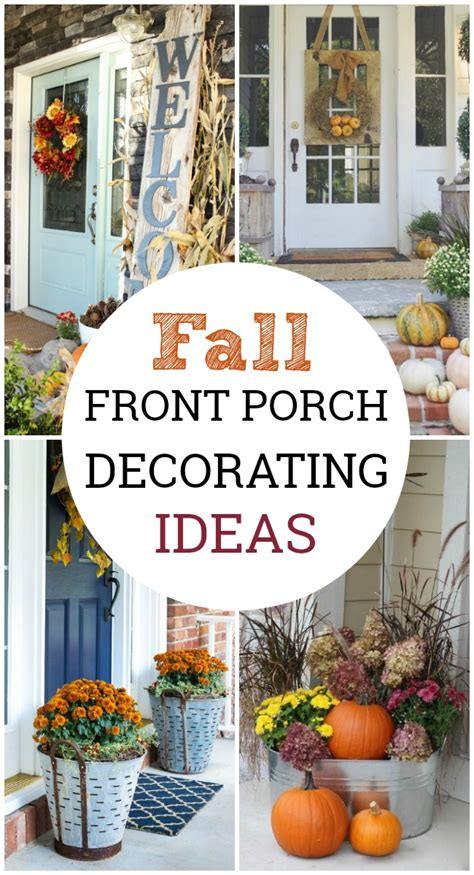 Decorating Ideas For Fall Front Porch by Fall Front Porch Decorating Ideas