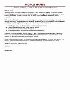 Cover letter for finance job the letter sample for Sample cover letters for finance jobs