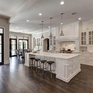Gorgeous 40 Gorgeous and Luxury White Kitchen Design Ideas ...