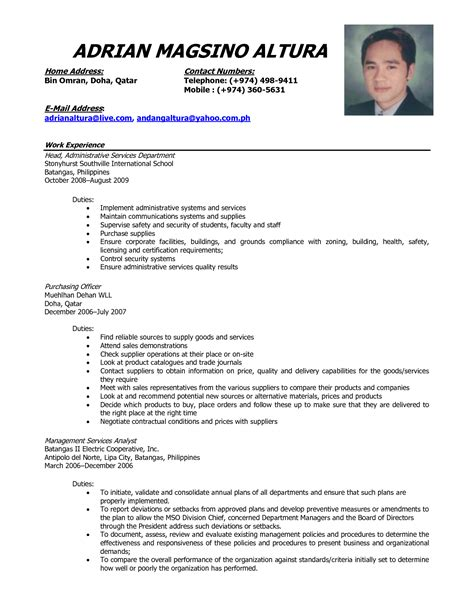 Comprehensive Resume Sle by Comprehensive Resume Template 28 Images Exles Of Resumes Resume Template Comprehensive Free
