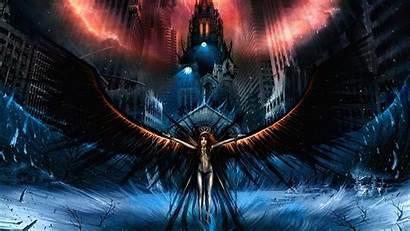 Angel Dark Angels Desktop Fallen Wallpapers Background