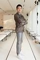 Chinese Actor Tong Dawei in Awe During 2017 Milan Fashion Week
