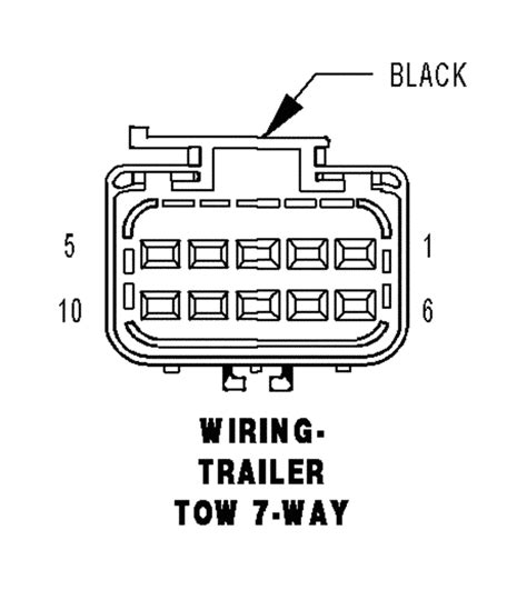 Dodge 7 Pin Trailer Wiring Diagram To 4 Wire by I No Right Turn Signal On The Trailer The