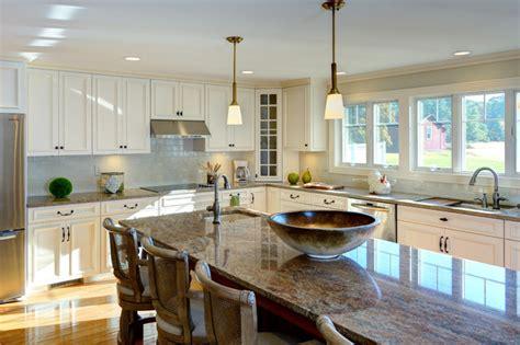kitchen center island with sink tradtional kitchen addition with center island granite