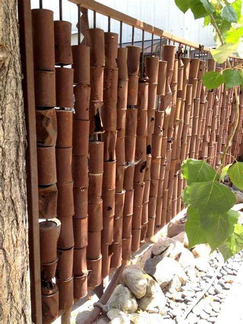 Separation Jardin Bambou by S 233 Paration Jardin Id 233 Es De Cl 244 Tures Haies Et Brise Vue