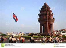 Independence Monument, Phnom Penh, Cambodia Editorial