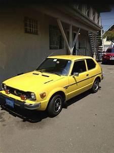 Buy Used 1977 Yellow Civic Cvcc In Berkeley  California