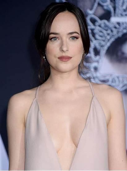 Dakota Johnson Shades Fifty Darker Premiere Angeles