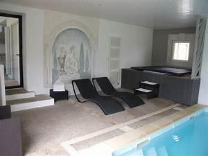 maison avec piscine interieure couverte chauffee roque With location maison avec piscine interieure