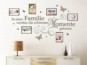 Wandtattoo Mit Bilderrahmen : wandtattoo fotorahmen in einer familie werden wandtattoo de ~ Bigdaddyawards.com Haus und Dekorationen